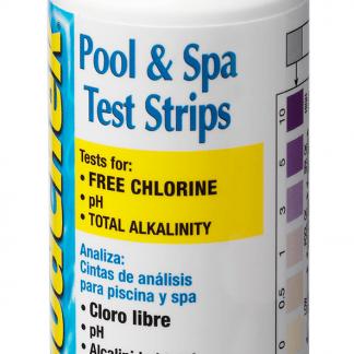 Teststickor klor, pH och total alkalinitet