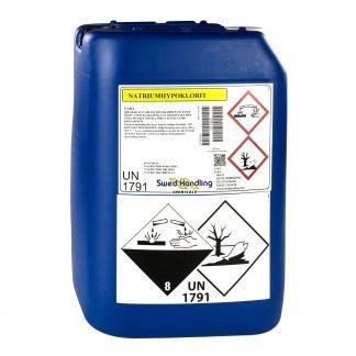 Flytandeklor (Natriumhypoklorit) 30 kg