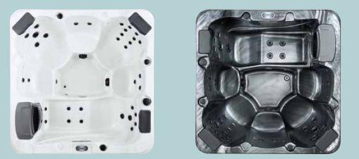 tor svart eller vit insida