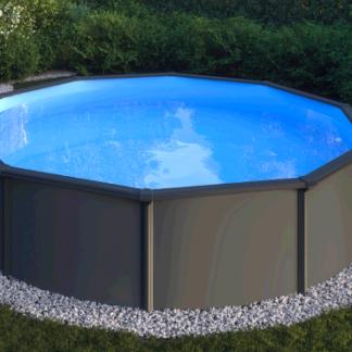 Classic Pool Fristånde Självbärande plåt pool