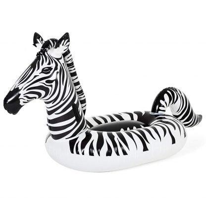 Badmadrass zebra med LED-belysning